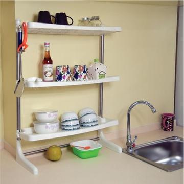 厨房置物架角架三层 长沙哪有厨房置物架/角架卖?